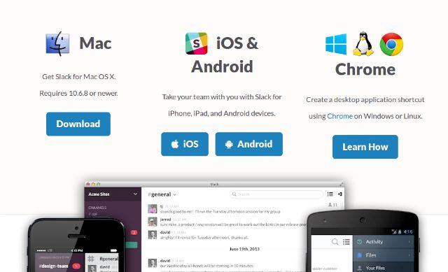 slack-aplicaciones