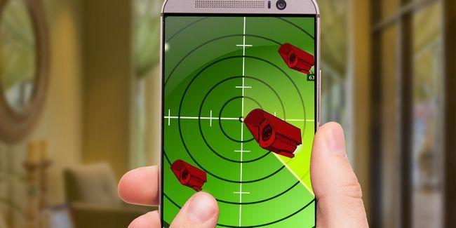 Cómo utilizar el teléfono para detectar las cámaras de vigilancia ocultas en el hogar