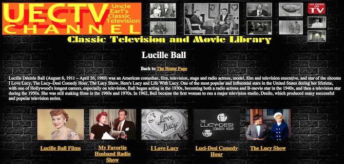 Uncle Earl televisión clásica
