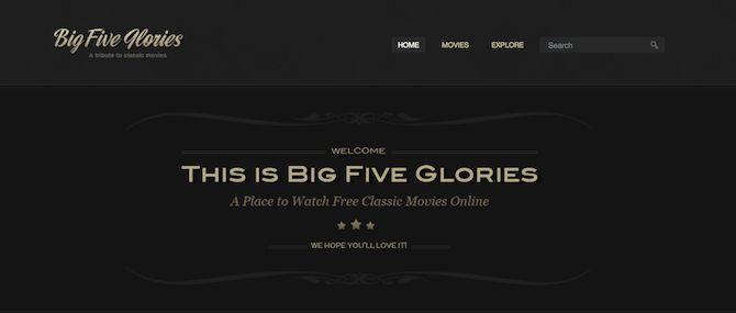 cinco grandes glorias