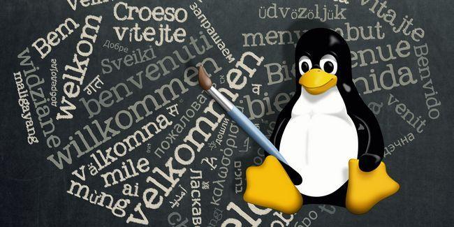 Cómo escribir con cualquier idioma en linux
