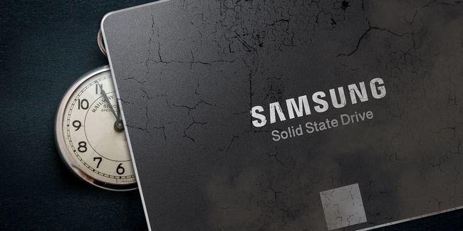 ¿Cómo se degrada ultrabook rendimiento en el tiempo con un ssd de samsung tlc