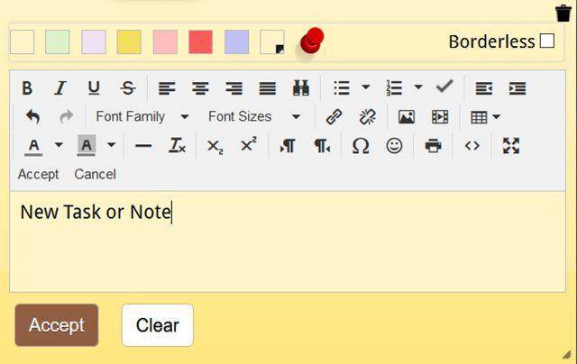 NoteBoardWebNote