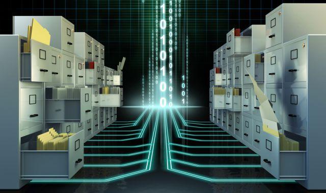 Sistema de archivos digitales