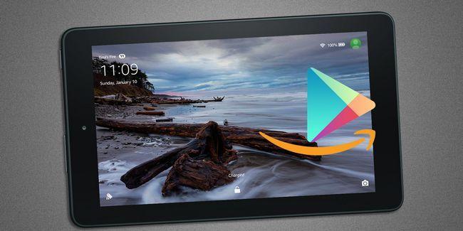 Instalar google play & eliminar anuncios en una tableta de amazon fuego sin raíz