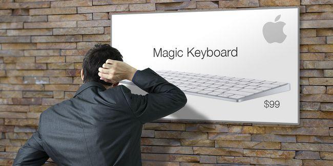 Es el teclado oficial de apple realmente un valor de $ 99?