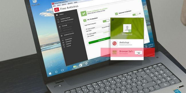 Es la seguridad del navegador avira una extensión necesaria?
