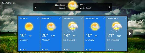 aplicaciones meteorológicas escritorio