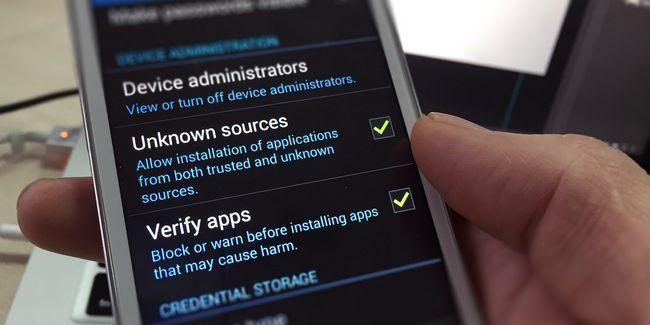 ¿Es seguro para instalar aplicaciones de android a partir de fuentes desconocidas?