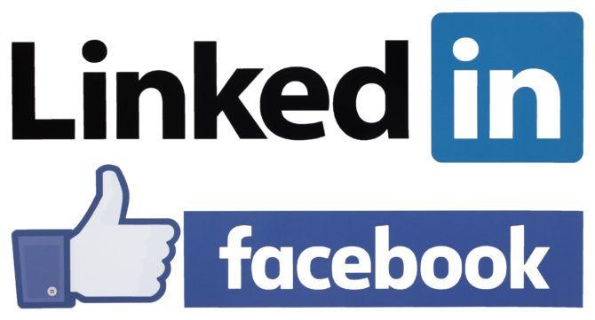 LinkedIn Facebook vs.