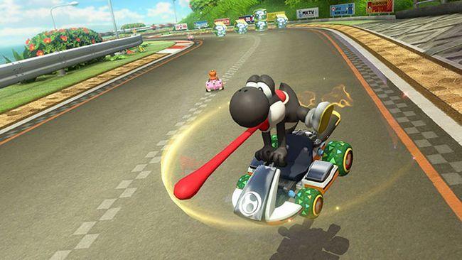 Mario kart yoshi 8 deluxe