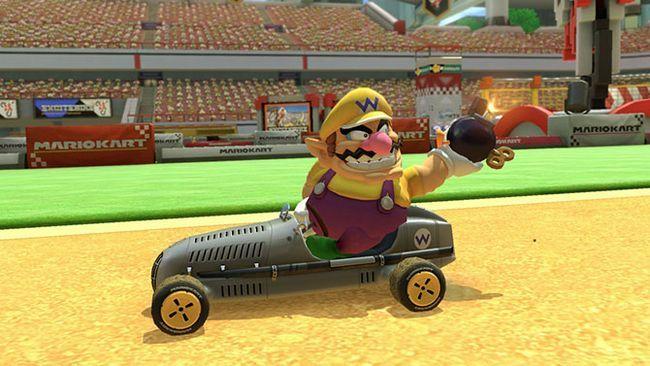Mario Kart wario 8 deluxe
