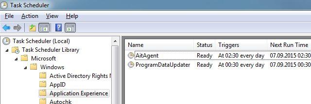 Programador de tareas de Windows