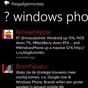 oficina móvil Windows Phone