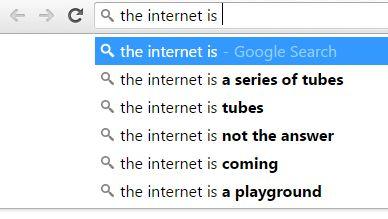 El Internet es una serie de tubos