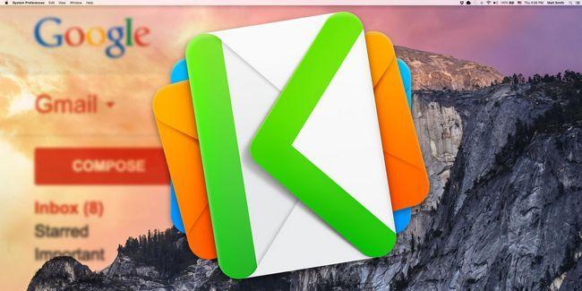 Kiwi es básicamente gmail para mac