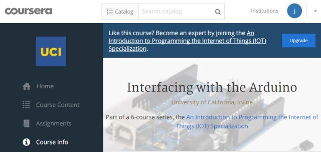 Coursera-Arduino