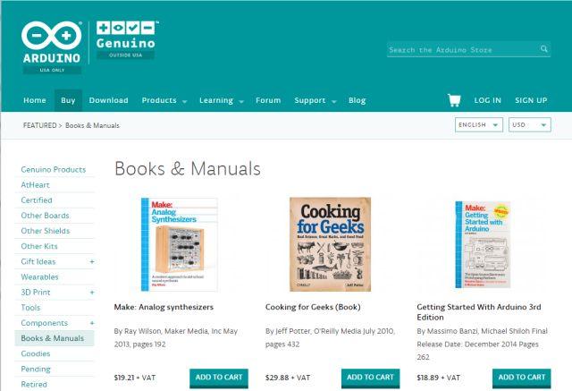 Arduino-libros