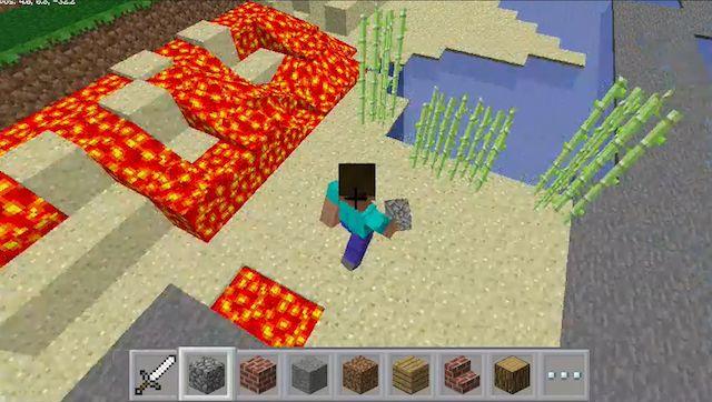 Minecraft-Pi-lava-Juego