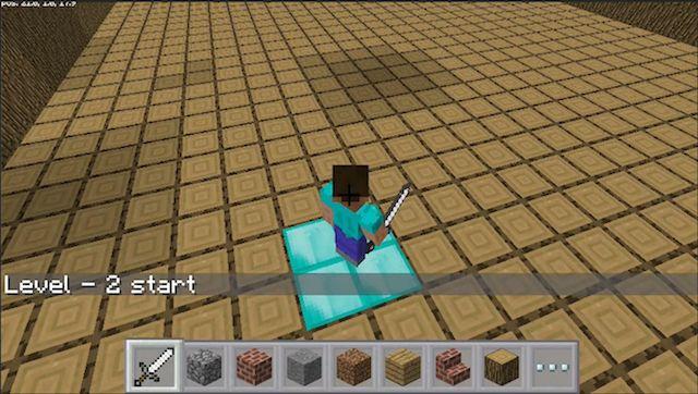 Minecraft-Pi-Mini-Juego