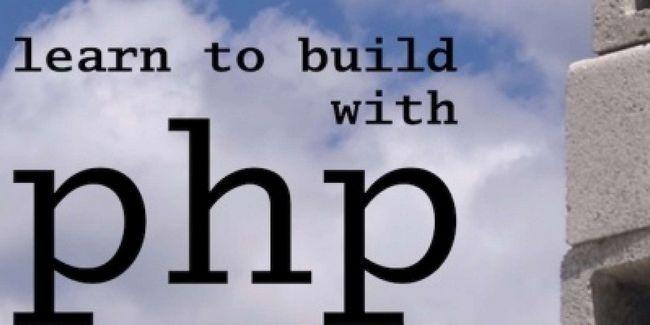 Aprender a construir con php: un curso intensivo