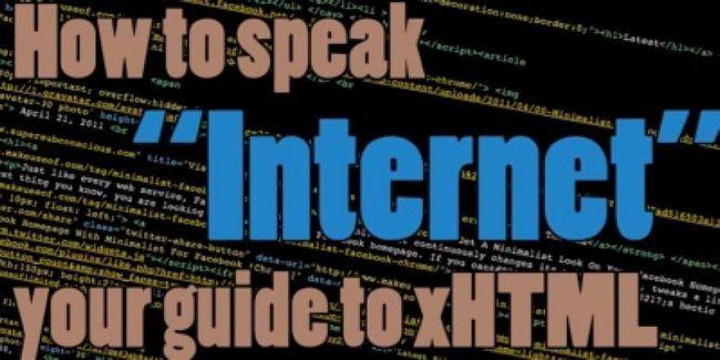 """Aprender a hablar """"internet"""": su guía a xhtml"""