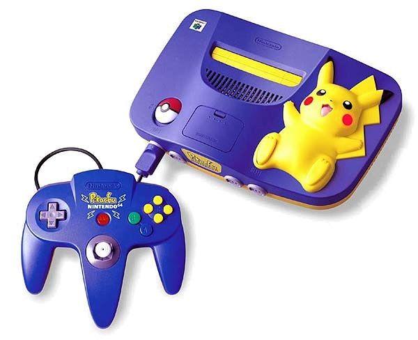 Pikachu N64 Edición