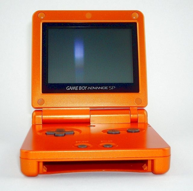 Torchic Naranja Game Boy Advance SP