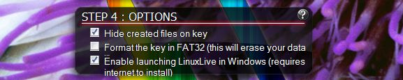 Linux USB unidad de salto de arranque