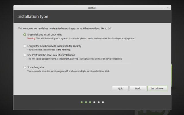 UbuntuVsLinuxMint-Instalador