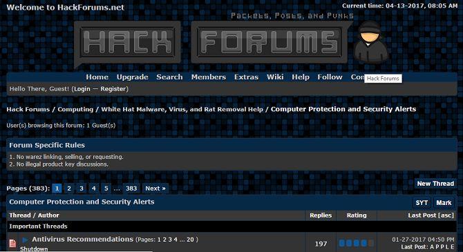 foros de hackers