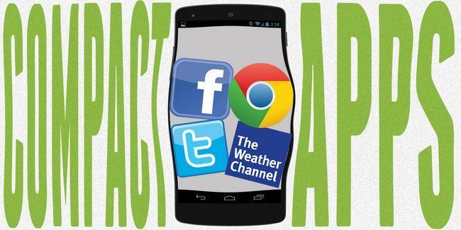 Baja en el almacenamiento? Ahorrar espacio en android de grandes aplicaciones de menos de 10 megabytes