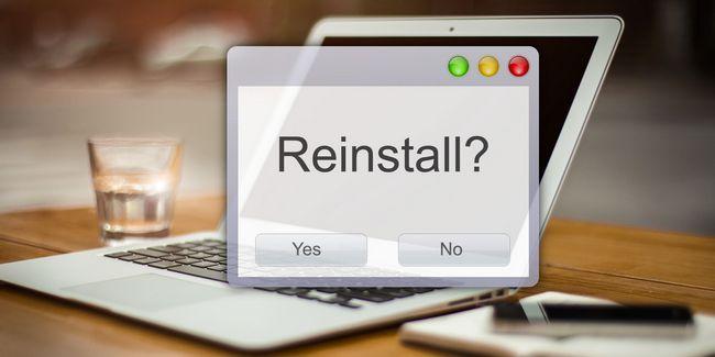 Los usuarios de mac: ¿hay alguna buena razón para volver a instalar cada vez os x?