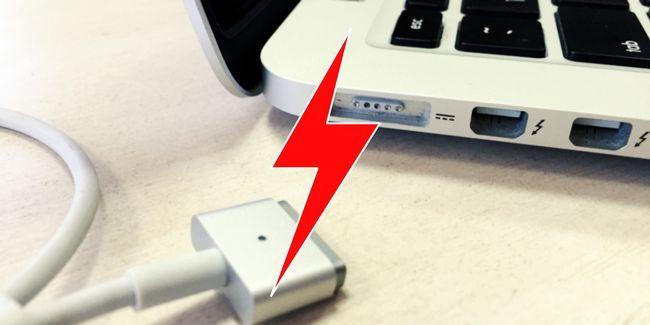 Macbook no cobrar? Problemas de alimentación del ordenador portátil