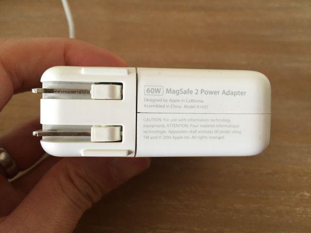 macbook-adaptador de potencia