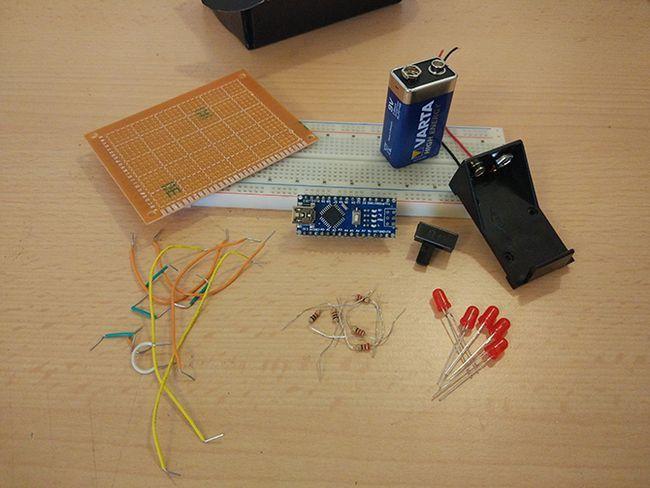 Componentes necesarios para el Proyecto