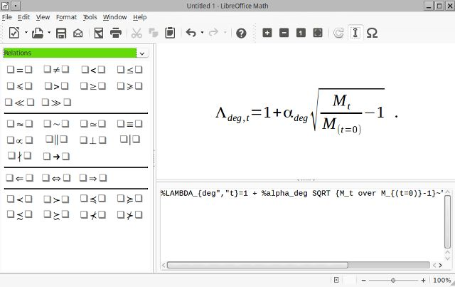 Linux-ganar-matemáticas-libreofficemath