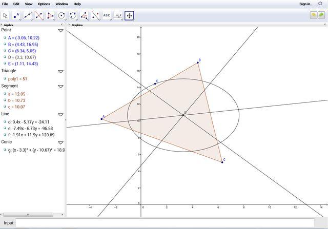 Linux-ganar-matemáticas-GeoGebra