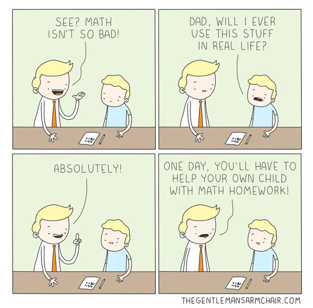Linux-ganar-matemáticas-cómica