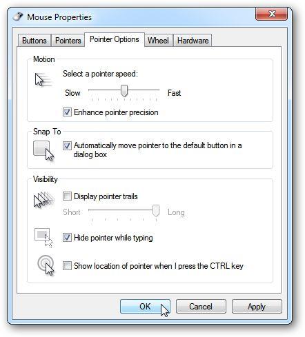 Hacer que el puntero del ratón a presión a un cuadro de diálogo abierto en os x (como en windows)