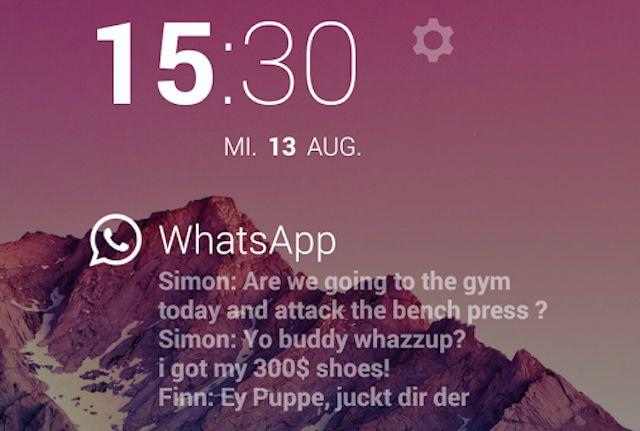 Mejor-Whatsapp-aplicaciones en Android-Dashclock