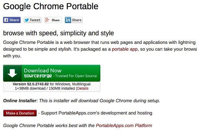google-chrome-portátil