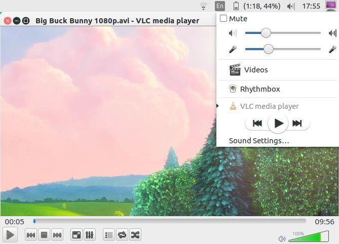 la configuración del reproductor multimedia VLC unidad