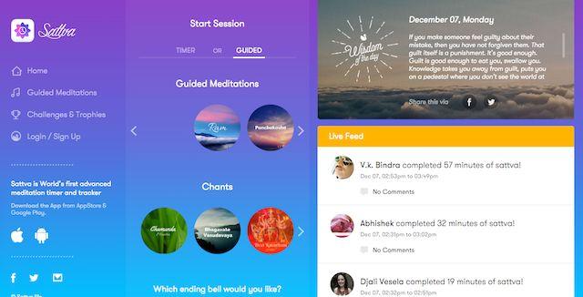 Nuevos años de resoluciones sitios web-Sattva