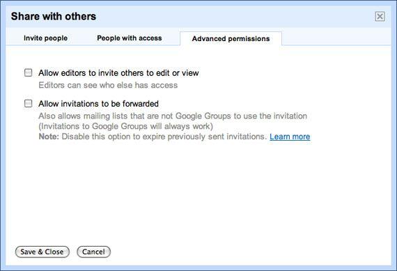 Google Docs Settings2