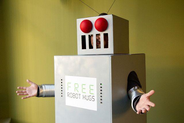 -Libre robot-abrazos