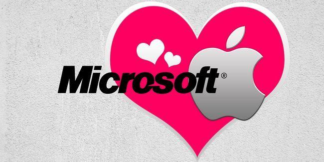 Microsoft ama manzana - estos mac e ios lo demuestran