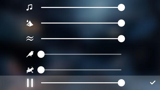 aplicación de iOS viento