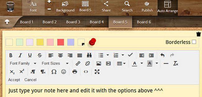 noteboard Firefox