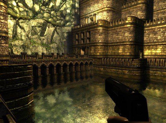 En el juego captura de pantalla de Cube 2: Sauerbratena